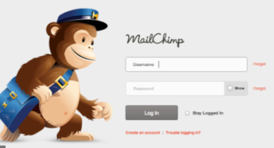 mailchimp sign in