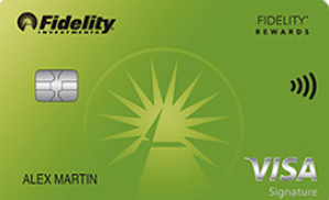 fidelity credit card login