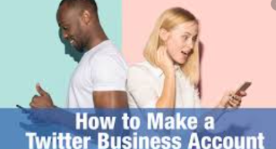 create twitter business account
