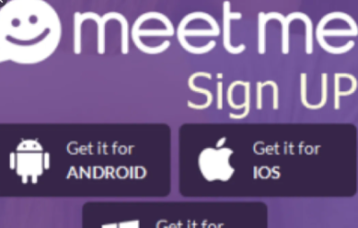 sign up meetme account