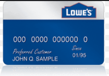 lowes credit card offer