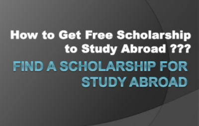 how can I get free scholarships abroad