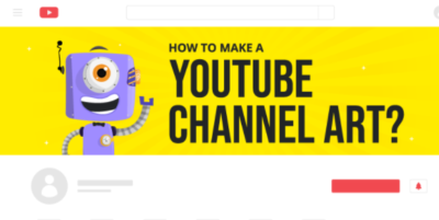 how to create youtube channel art