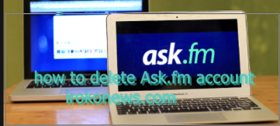 how to delete ask fm account